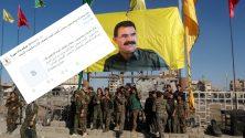 PKK PYD Uyuşturucu Ağı